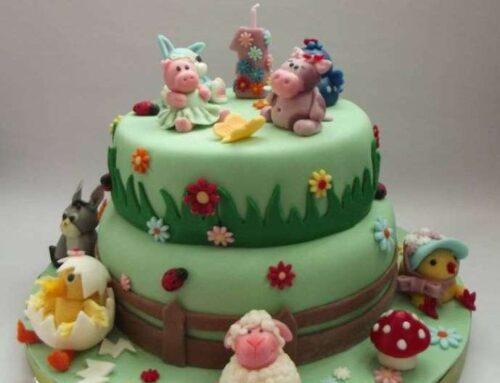 "Tort ""Ferma cu animale"" / Animal Farm Cake"