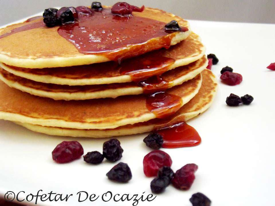 Pancakes – un deliciu tipic american