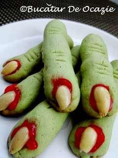 """Fursecuri """"Degete de vrăjitoare"""" / Witch's Fingers Cookies"""