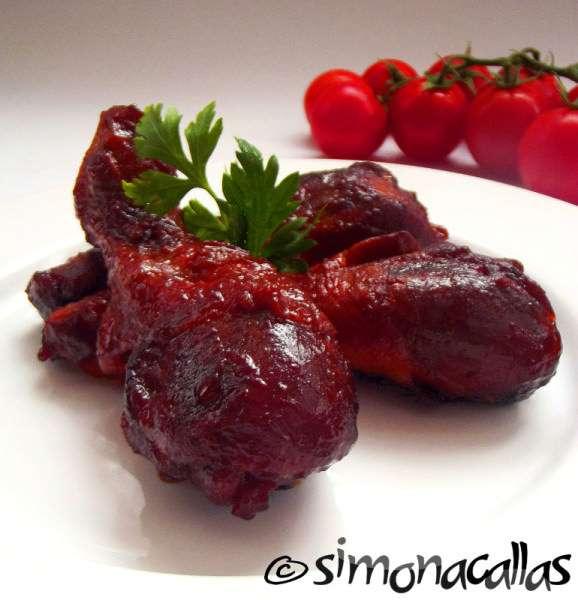 Pulpe de pui picante / Spicy Chicken Legs
