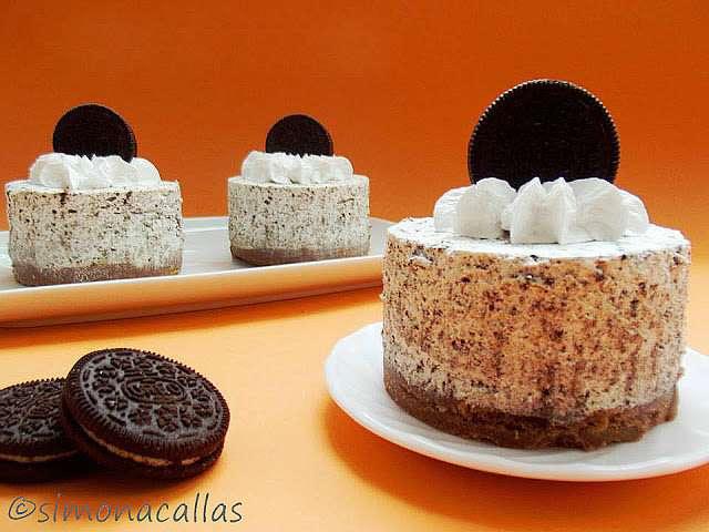 Tortulete cu Oreo / Oreo Mini Cakes