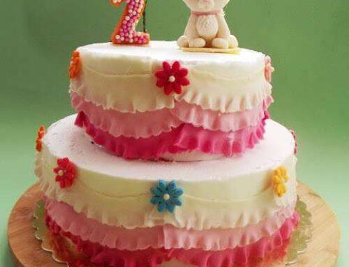 Tort cu ciocolata alba si capsuni / Tort alb si roz