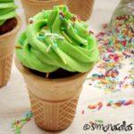 Cupcakes în cupe de îngheţată / Ice Cream Cupcakes