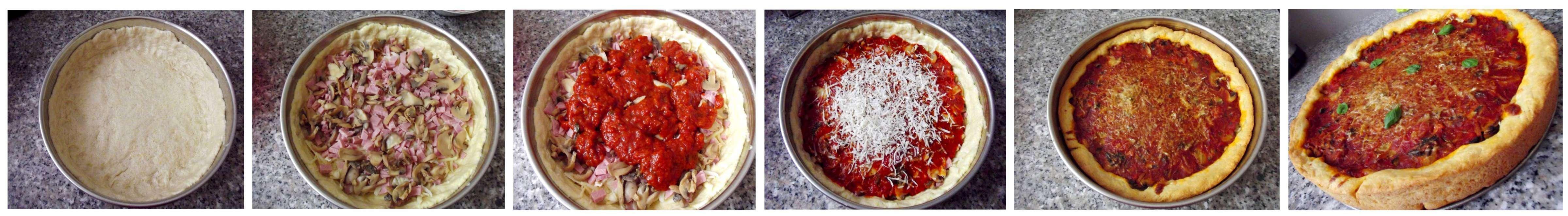 Mozaic pizza