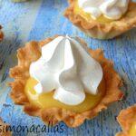 Minitarte delicioase cu lamaie si bezea / Lemon Meringue Tartlets