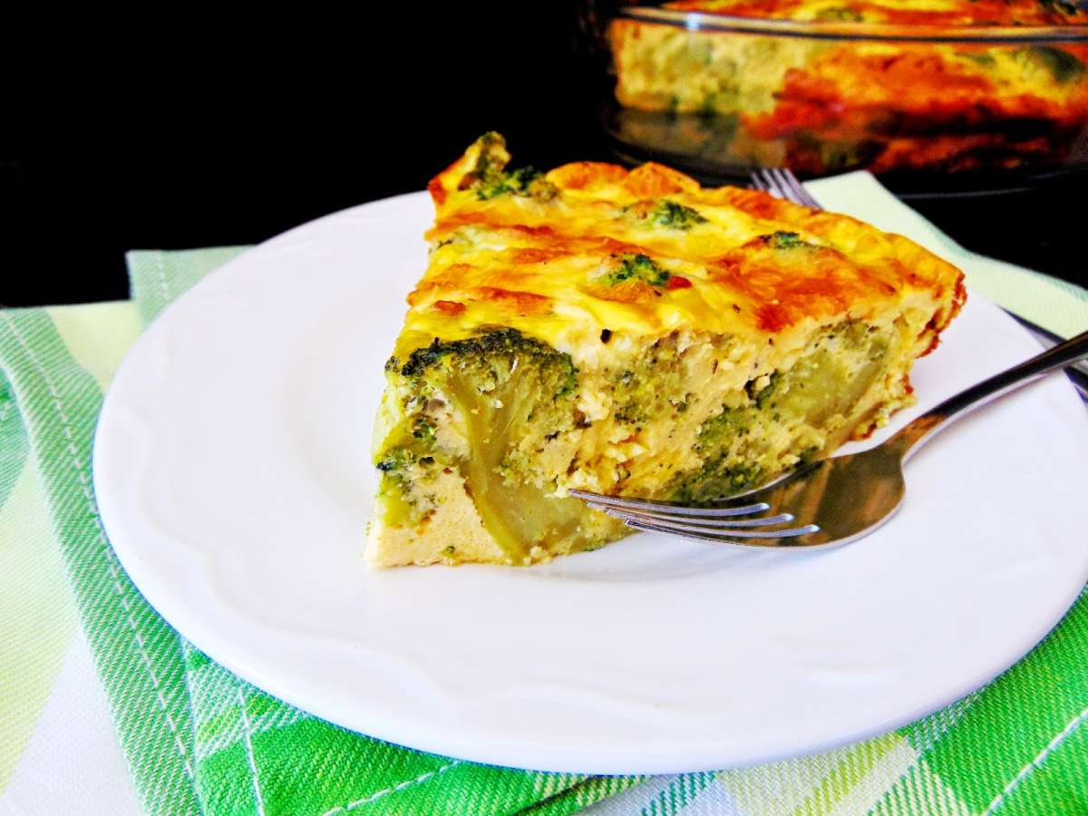 sufleu de broccoli