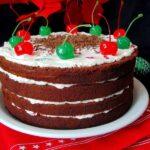 Tort Festiv Cocktail cu Cirese Maraschino