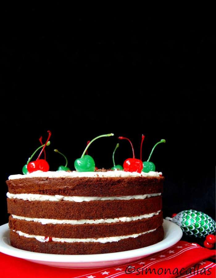 Tort Festiv Cocktail cu Cirese Maraschino 5