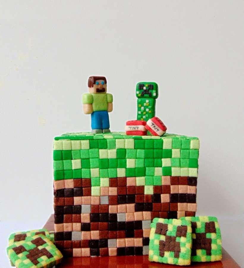 Tort Minecraft / Minecraft Cake