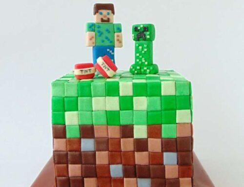Minecraft Cake / Tort Minecraft