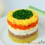 Salata Mimoza Mimosa Salad o reteta cu traditie