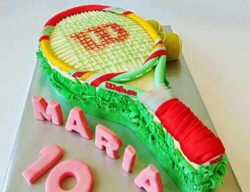 Tort Racheta de Tenis / Tennis Racket Cake
