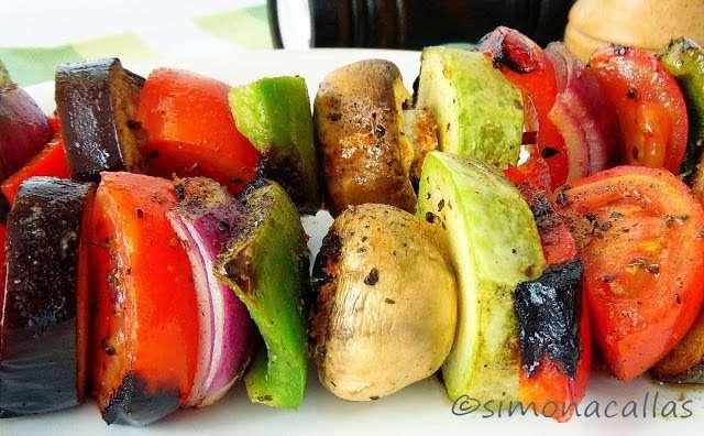 Frigarui vegetariene / Veggie Grilled Kebab