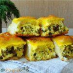 Cherdele dobrogene / Cheese Stuffed Crescent Rolls