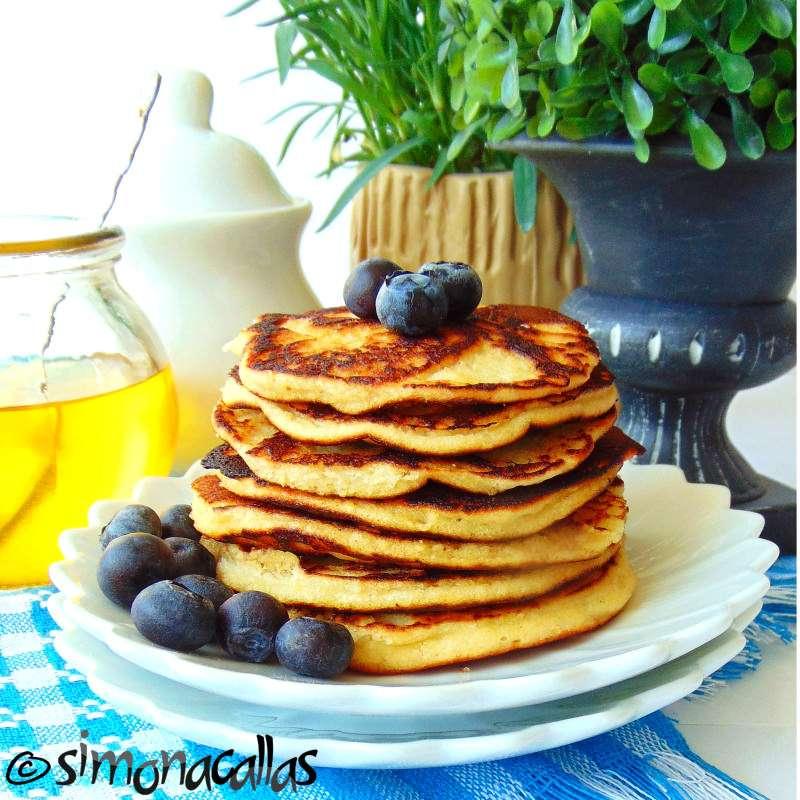 Pancakes dietetice cu cocos