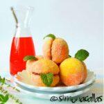 Peach Cookies / Piersici umplute