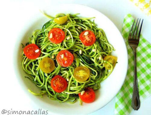 Taitei din zucchini / Zucchini Noodles