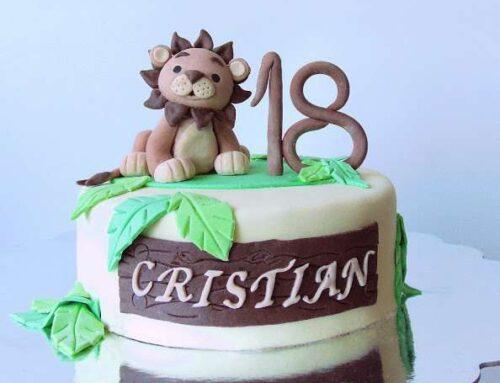 Tort aniversar Leu / Lion Birthday Cake