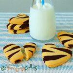 Fursecuri Zebra reteta de post / Biscuiti animal print