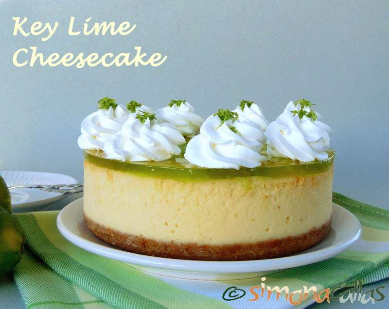 Key Lime Cheesecake / Cheesecake cu limete