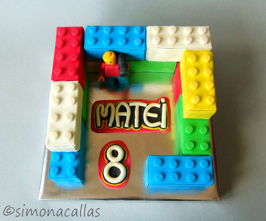 Tort Lego Lego Cake simonacallas