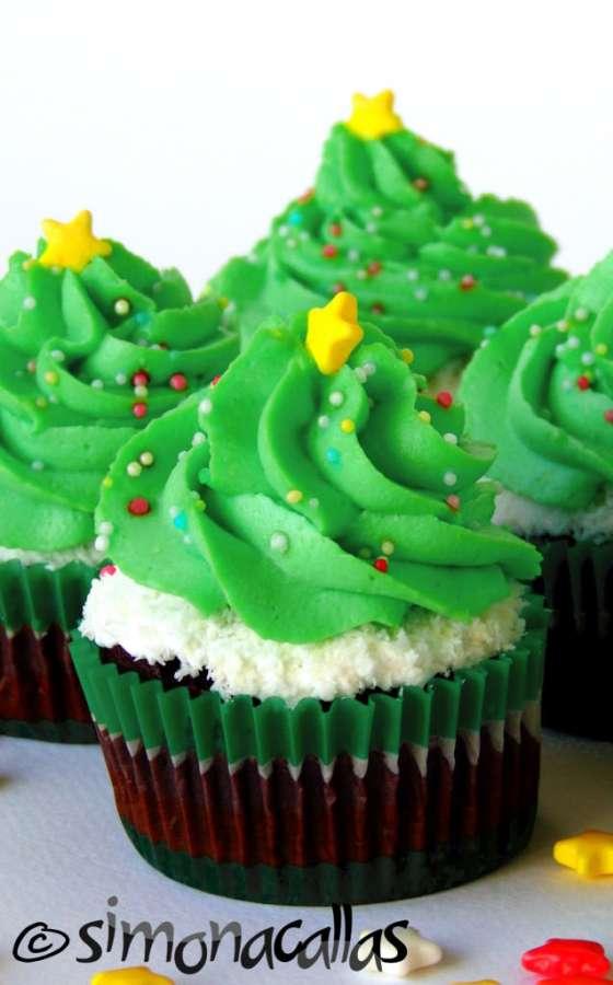 Cupcakes de post cu ciocolata si frisca