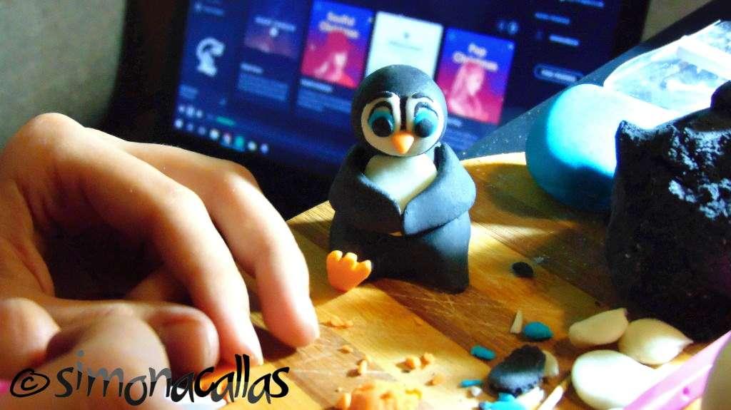 Fondant-penguin