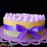 Tort Entremet cu mure si ciocolata rafinat si elegant