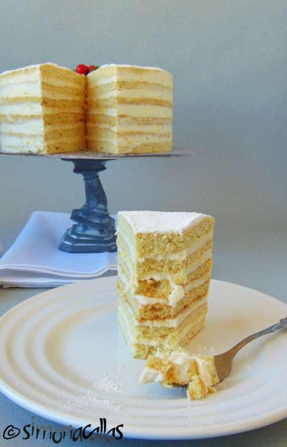 Tort Alba ca Zapada Prajitura Lamaita 5