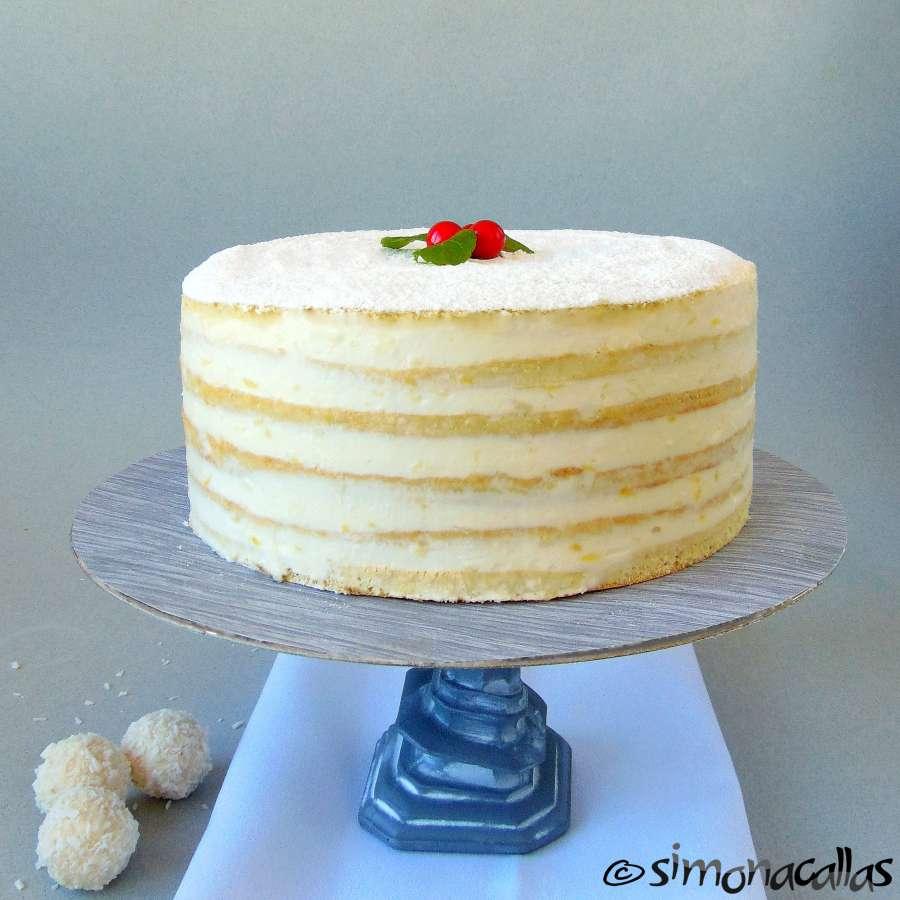Tort Alba ca Zapada Prajitura Lamaita