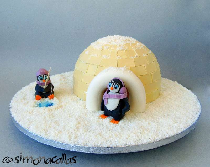 Igloo Charlotte Cake – recipe and tutorial