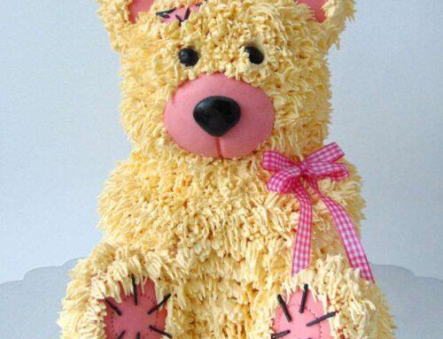 Tort ursulet Tort Teddy Bear tridimensional