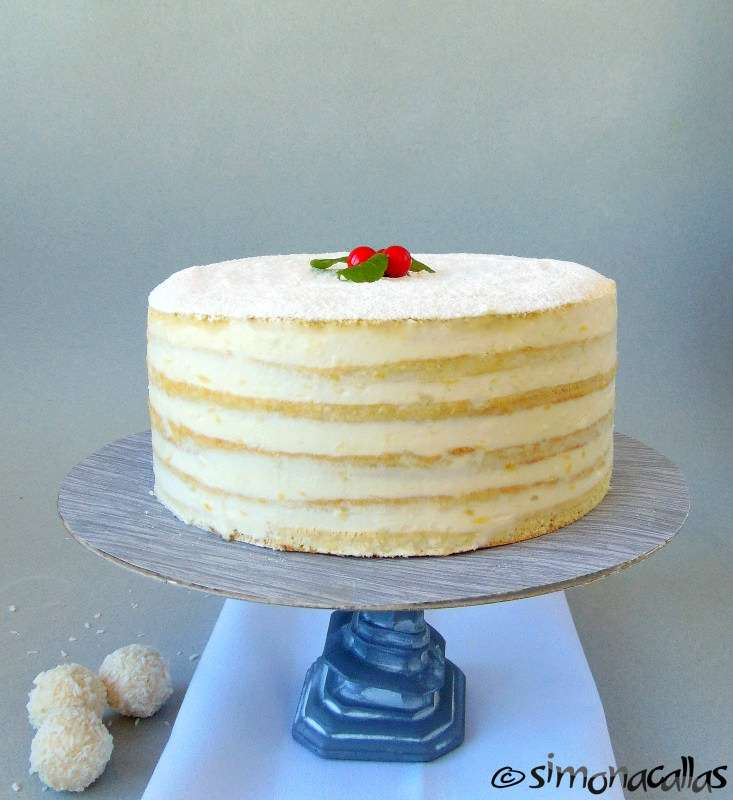 Lemon White Cake (a traditional recipe)