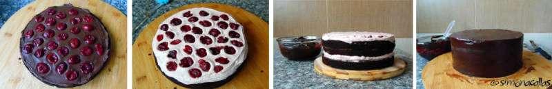 Chocolate&Cherry Cake
