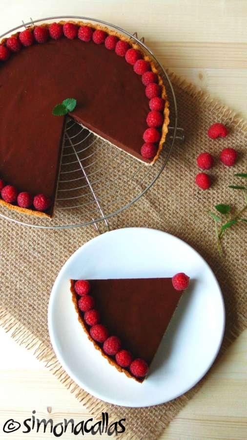 Tarta cu ciocolata dietetica