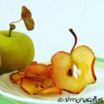 Chipsuri de mere caramelizate