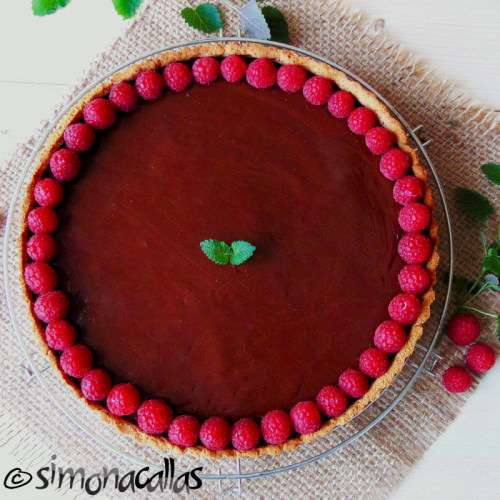 Dietetic Chocolate Tart