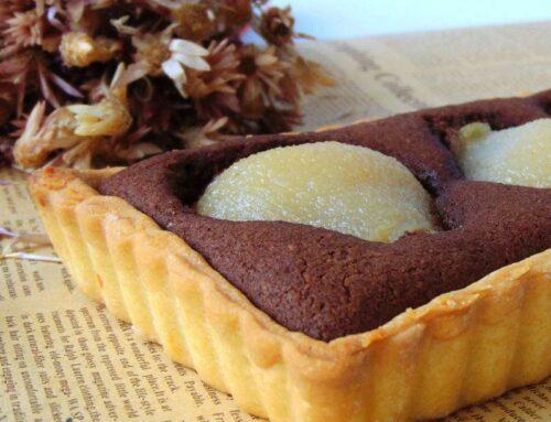 Vegan Pear Tart recipe – a vegan version of Bourdaloue Tart