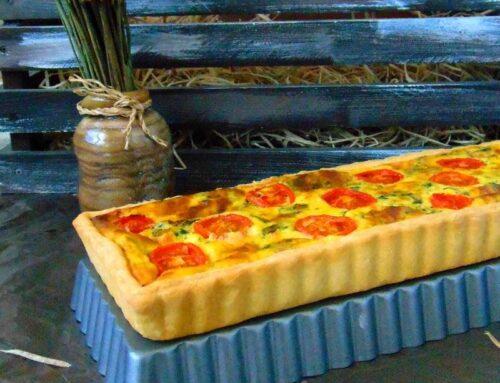 Quiche cu spanac si ricotta – tarta aperitiv reteta