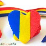 Biscuiţi tricolori pentru Ziua Drapelului Naţional