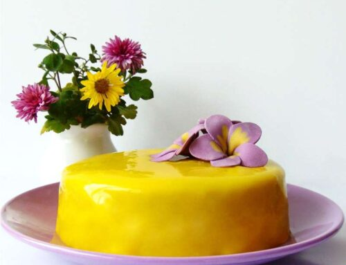 Lemon Blackberry Entremet Recipe