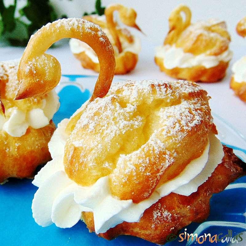 Choux-Pastry-Swans- Swan-Pâte-à-Choux