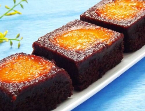 Apricot Chocolate Brownies Recipe