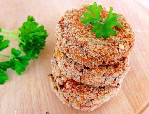 Healthy Baked Veggie Patties