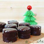 Mini prajituri cu ciocolata simple si delicioase