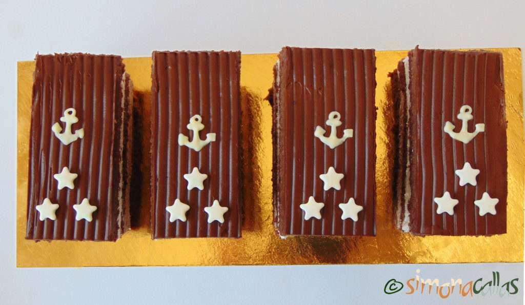 Prajitura Comandor cu ciocolata si frisca 2