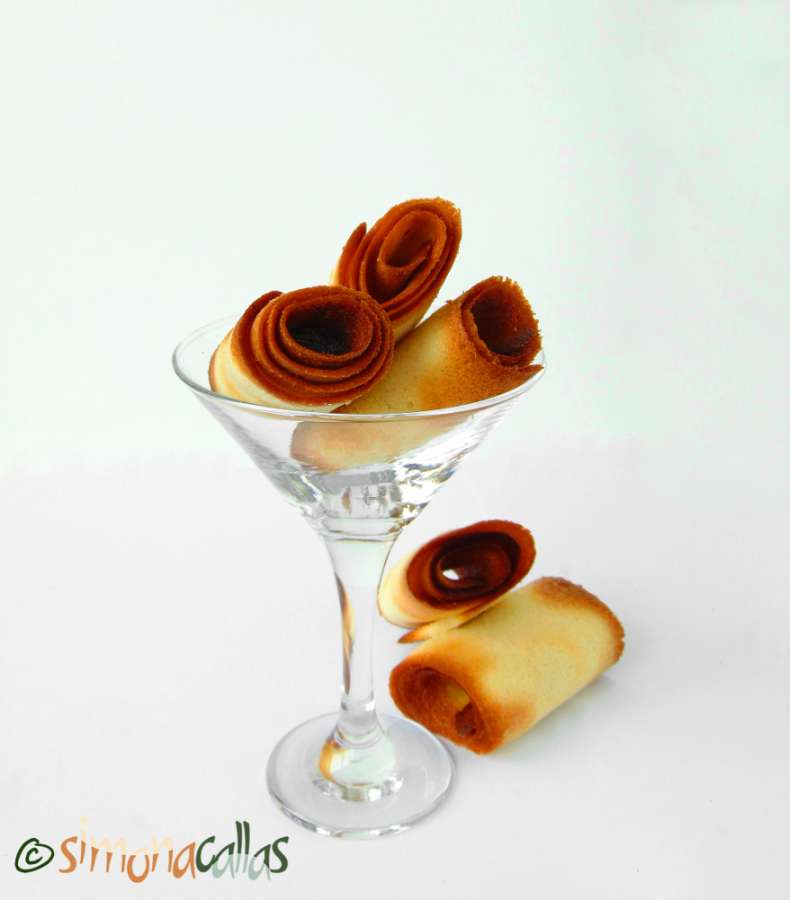 Crêpes Dentelles si Crocant pralinat de ciocolata 2