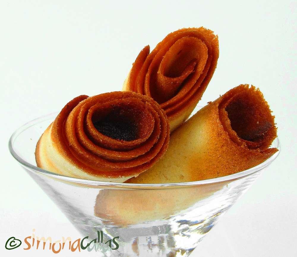 Crêpes Dentelles si Crocant pralinat de ciocolata 3