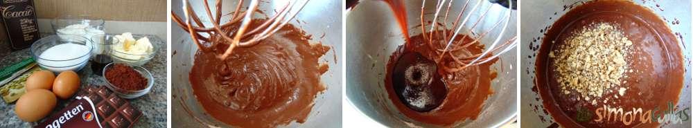 Negresa cu nuca si ciocolata a