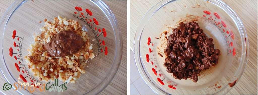 Crêpes Dentelles si Crocant pralinat de ciocolata d